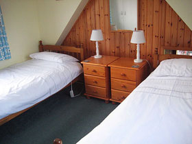Feshieway Cottage Upstairs Double bedroom